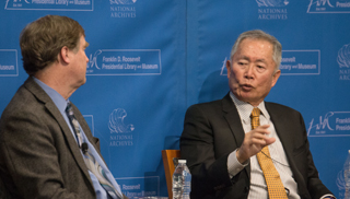 George Takei and Kermit Roosevelt