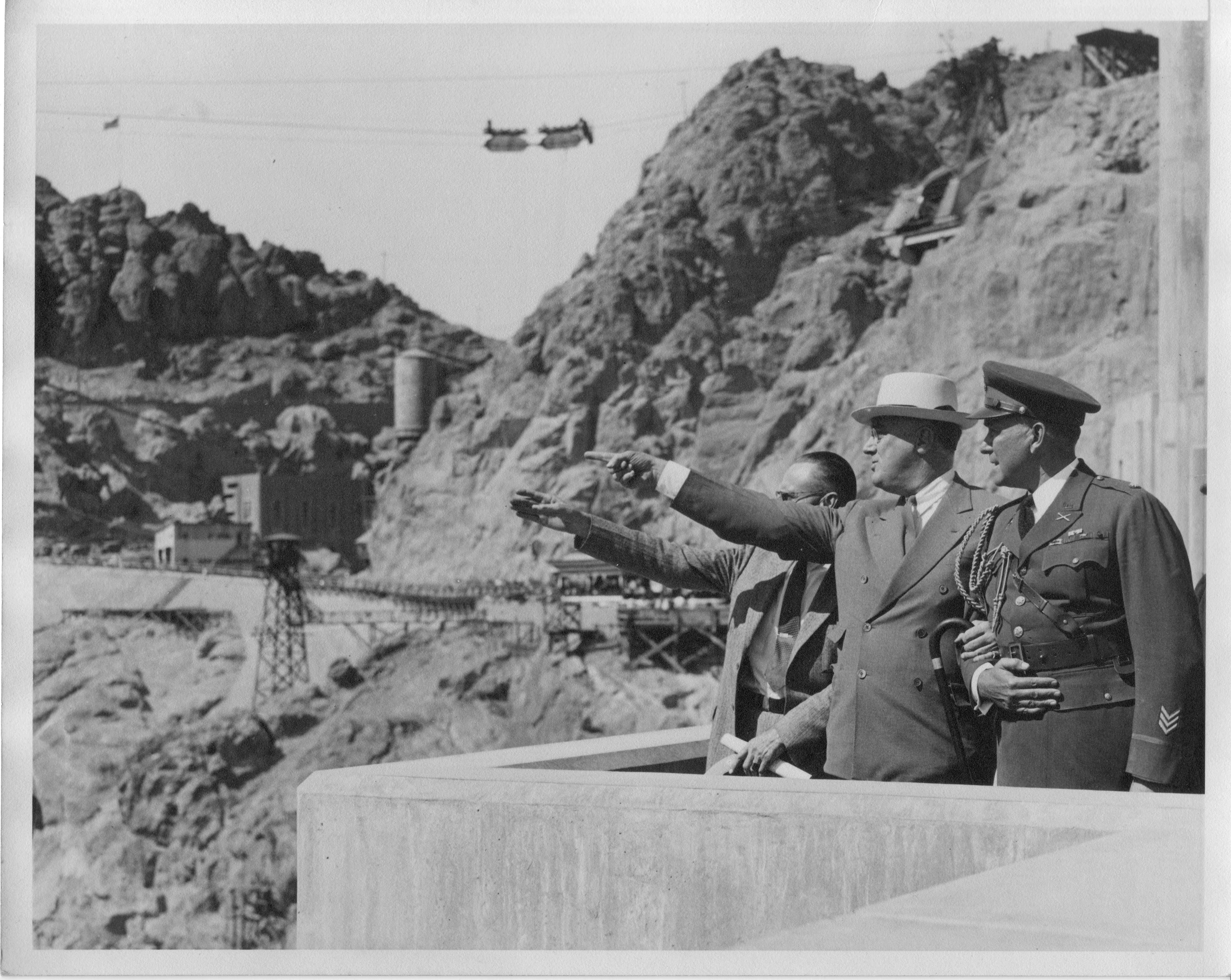 FDR at dedication of Boulder Dam, September 30, 1936
