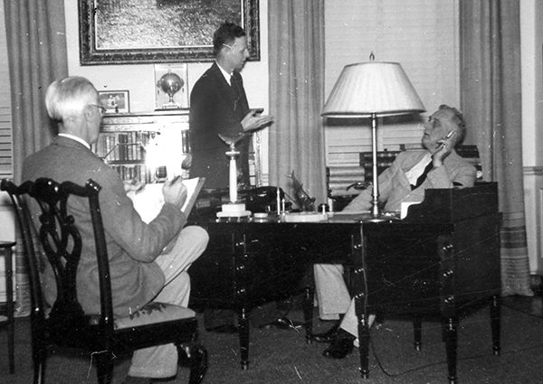 Shipman meets with FDR